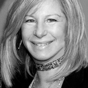 "A recent portrait of Barbra Streisand for ""Ted Talks"""